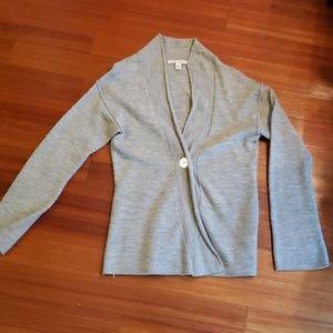 Banana Republic gray lightweight sweater. Sz small